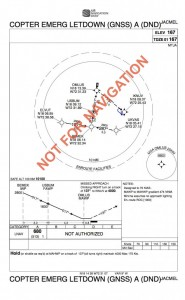 Jacmel, Haiti Helicopter Instrument Procedure